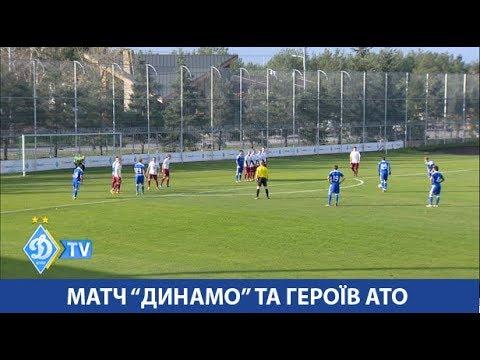 Матч «Динамо» та переможців Кубка Героїв АТО
