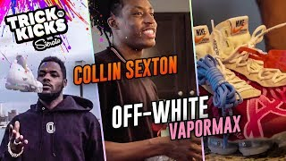 Collin Sexton AKA Young Bull Gets Custom OFF-WHITE Vapormax From Best Sneaker Artist In The World!