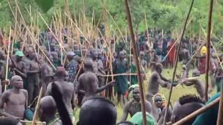 Donga stick fight July 17 2017 Surma. Omo-Turkana Tours OMO_VALLEY_PHOTOGRAPHY_TOURS