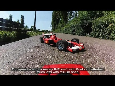 Lego Technic RC F1 Car