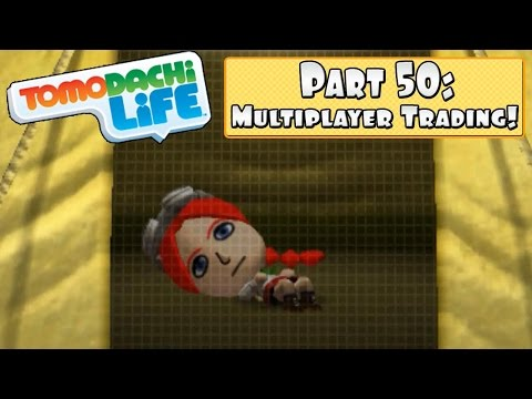Tomodachi Life 3DS - Part 50: Multiplayer Functionality With StreetPassPrinceton!!