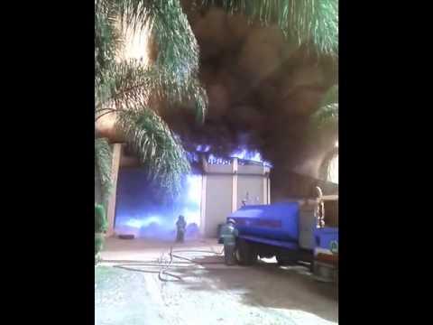 Se registra incendio en recicladora de Tlaquepaque