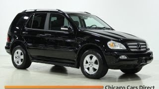Chicago Cars Direct Presents A 2005 Mercedes-Benz ML350 4Matic in High Definition
