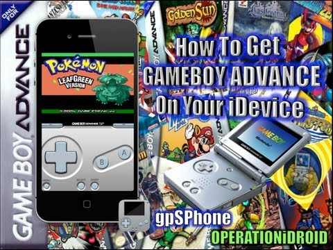How to get GBA Games on your iPhone.iTouch.iPad(No Computer)