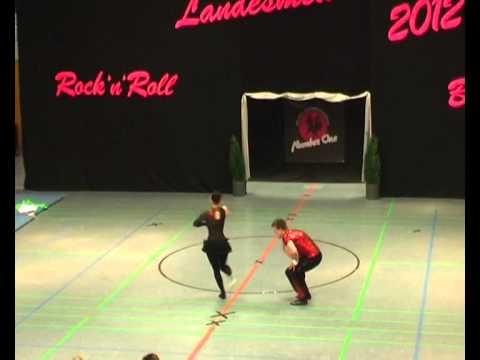 Lea Andres & Marc Krauß - Landesmeisterschaft NRW 2012