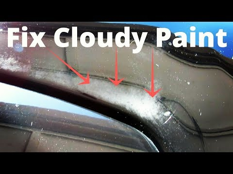Remove CLOUDY Paint Oxidation on your Car