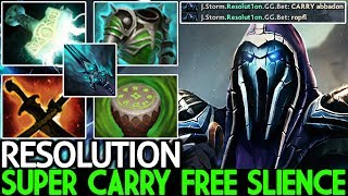 Resolution [Abaddon] Epic Super Carry Free Slience Crazy Gameplay 7.21 Dota 2