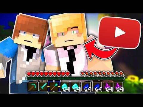 MINECRAFT YOUTUBERS PLAY BED WARS! - NICK VS JORDAN IN MINECRAFT (Minecraft Bed Wars)