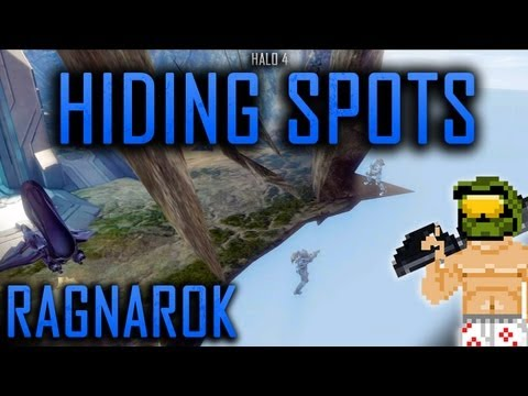Halo 4 Hiding Spots + Out of Map: Ragnarok