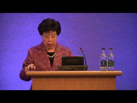 Dr  Margaret Chan addresses the inaugural meeting of the Healthy Ireland Council