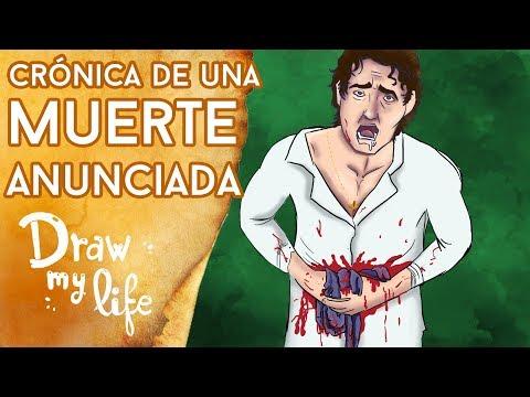 Resumen de CRÓNICA DE UNA MUERTE ANUNCIADA - Draw My Life en Español