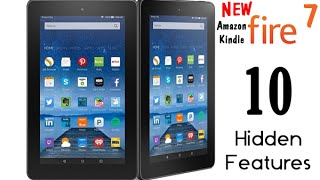10 Hidden Features of the NEW Amazon Kindle Fire 7 Tablet (2015) | H2TechVideos
