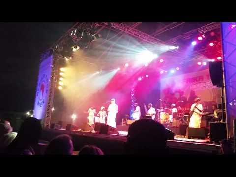 Salif Keita at Africa Festival Vienna, Austria 2015 1 of 2