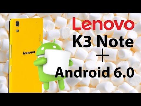 Lenovo K3 Note - Прошивка  на Android 6.0  | Обновление по Воздуху