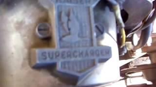 1954 supercharged KAISER MANHATTEN