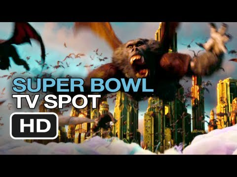 Oz The Great and Powerful Super Bowl TV Spot (2013)
