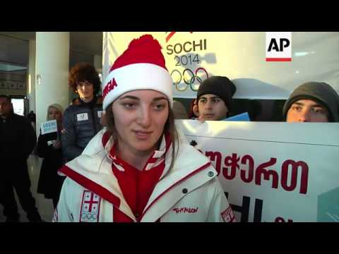 Georgian athletes leave for Russia despite strained political relations