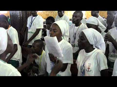 Chorale  Saint Kimbangou Simon  -  Kimbangu kumisama