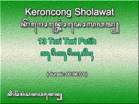 13. Sholawat Keroncong ~ Turi Turi Putih