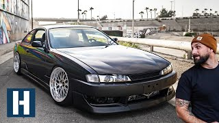 Vin's S14 Gets Fresh Kicks, Coilovers, and Driveline