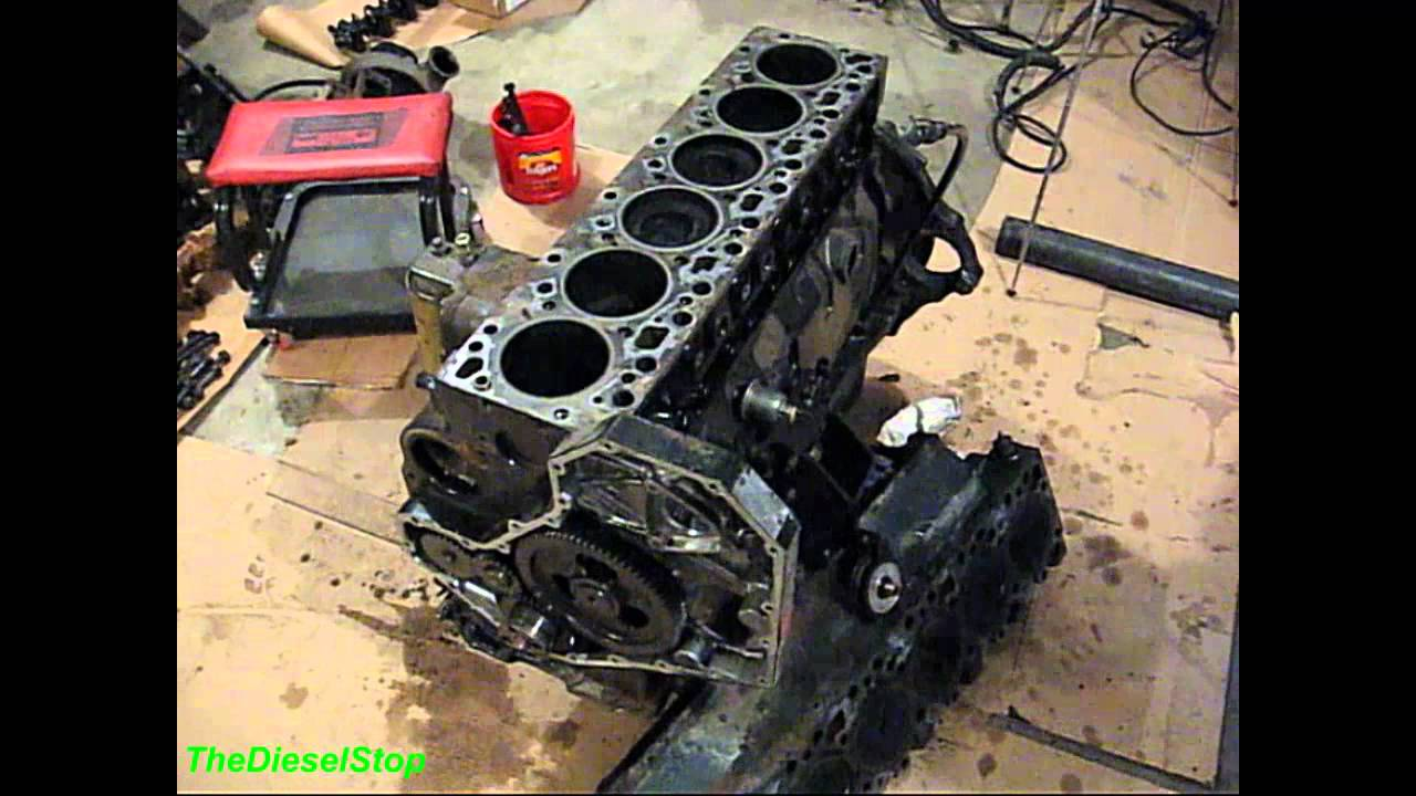 V Cummins Engine Build