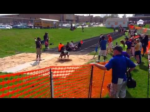 Boylan Catholic High school Lady's Track + Field - 05/19/2014