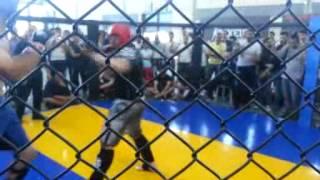 DARIO  PASINELLI -TEAM SCARDOVELLI-CAMPIONATI ITALIANI MMA SHOOTO 2014 CLASSE N CAT.+91 KG