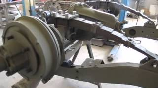 Jeep Willys-Ford il Restauro fase 1