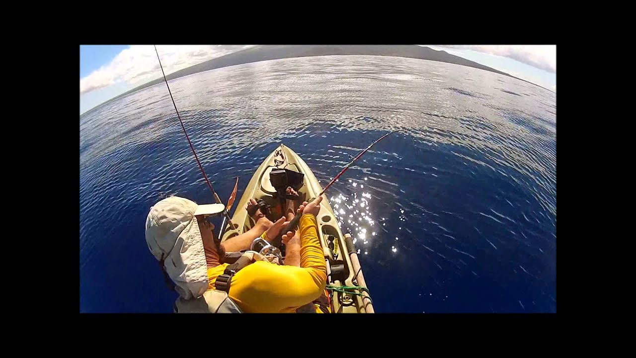 Kayak fishing maui ulua gt fishing cave for Fly fishing maui