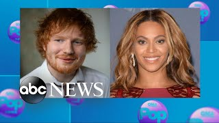 Ed Sheeran teams up with Beyonce for 'Perfect' Duet