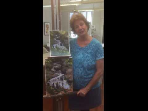Toni Treverton at Tampa Regional Artist