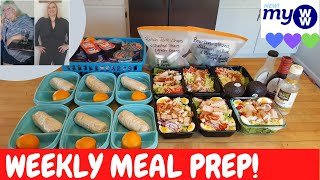 STEAK & EGG BURRITOS | TURKEY COBB SALADS | DIY DINNER KITS | HUBBY CAMEO | WEEKLY MEAL PREP | MyWW