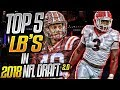 Tremaine Edmunds = Brian Urlacher?   Top 5 Linebackers In The 2018 NFL Draft