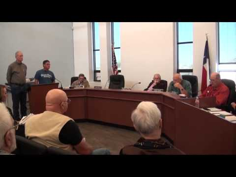 Karnes County Commissioners Court - Feb. 10, 2015