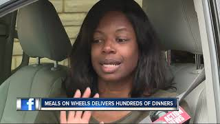 Meals on Wheels delivers hundred of dinners