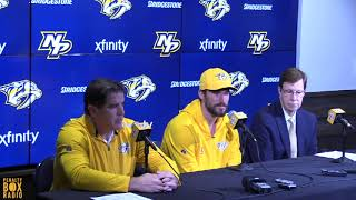 Roman Josi signs 8-year contract extension