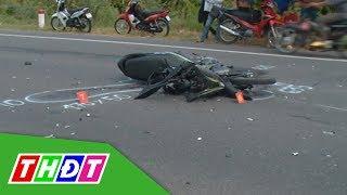 Tai nạn chết người trên đường dẫn cầu Cao Lãnh | THDT