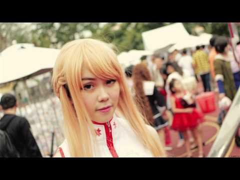 Lễ hội cosplay ở SG :D quá chất <3
