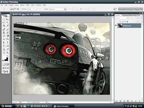 Efeito cartoon - Photoshop |By: Bielzim |