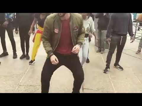 White Man Masters The African Dance #Fire 🔥🔥🔥🔥 thumbnail