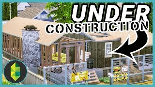 House Under Construction (Sims 4 House Build)