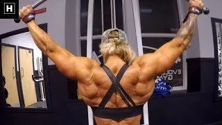 Sharon Madderson: Mass Building Back Exercises | Workout Motivation