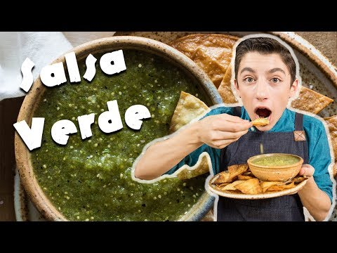 Quick Salsa Verde Recipe | Chef Eitan Bernath