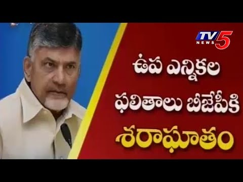 AP CM Chandrababu Naidu Responds To BJP's Loss In Karnataka By-Election | TV5News