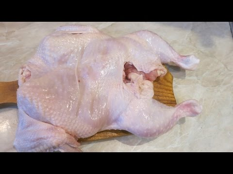 Удаление Костей Из Курицы! Deleting Bones Chicken!