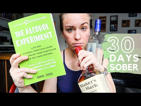 30 DAY ALCOHOL FREE CHALLENGE | the alcohol experiment review