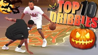 TOP 10 Playground Dribble Moves, Combos, Ankle Breakers & Crossovers   NBA 2K18 Highlights