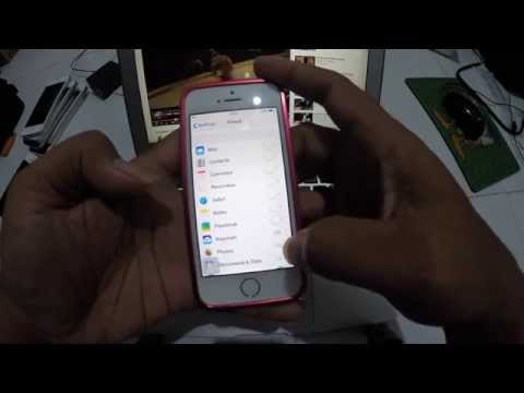 Delete iCloud Account Without Password IOS 7.1.2