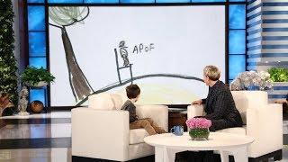 Ellen Helps Make Kid Expert Nate Seltzer's Movie Dream Come True