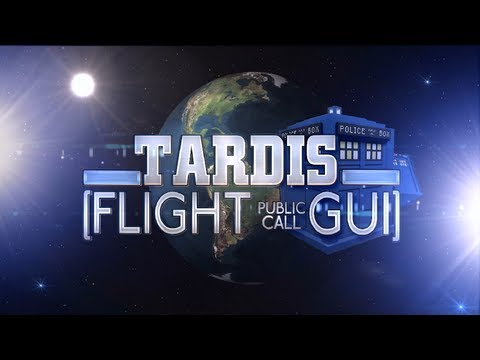 TARDIS FLIGHT GUI - AESTHETIC UPDATE - iKings Daily Report